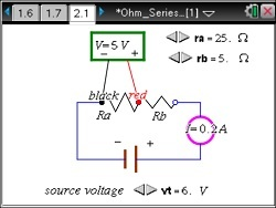 Circuits and Ohm's Law: Physics: TI Science Nspired
