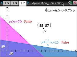 Algebra 2: Application of Linear Systems: Algebra 2: TI Math Nspired