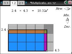 area model multiplying decimals   Decimals   Pinterest ...