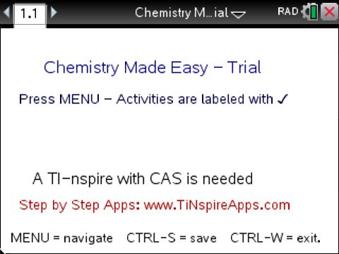Classroom activities chemistry made easy trial edition texas activity overview urtaz Images