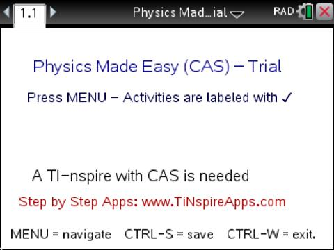 Classroom Activities: Physics Made Easy - Trial Edition - Texas