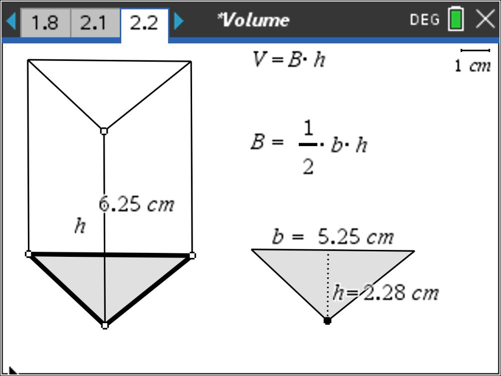 Classroom Activities: Volume - Texas Instruments - content