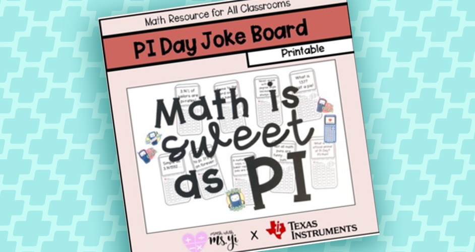 Math is sweet as PI
