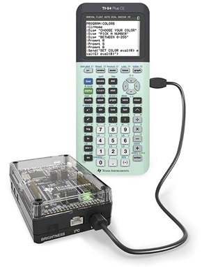 TI -84 Plus CE and TI-Innovator Hub
