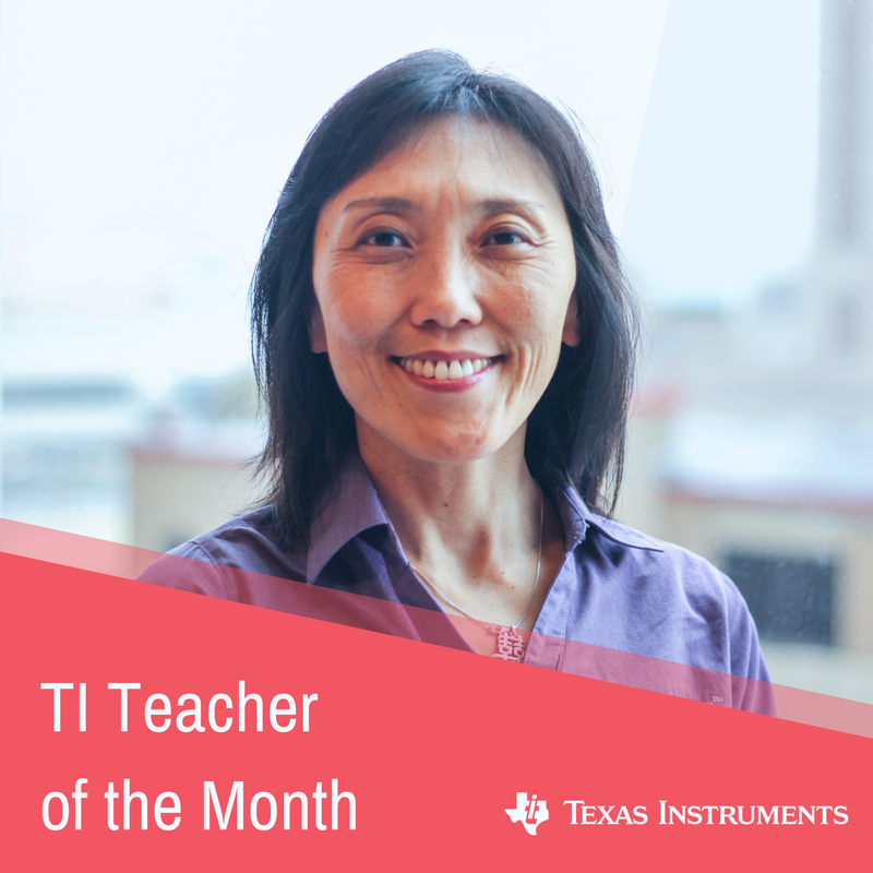 TI Teacher of the Month: May 2018