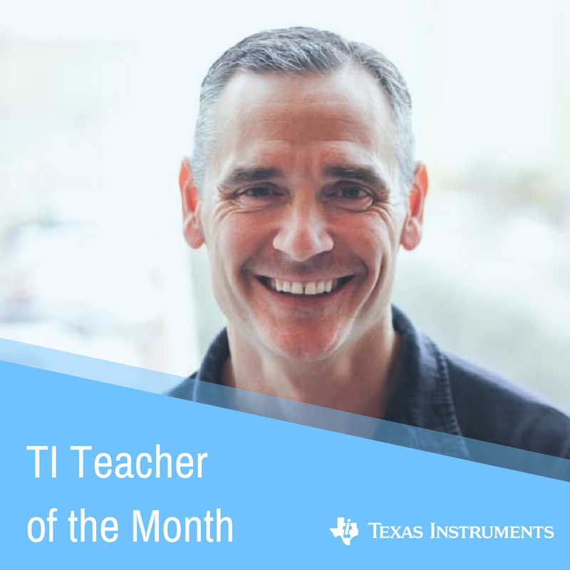 TI Teacher of the Month: April 2018