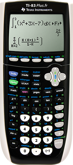 calculatrice scientifique ti 83