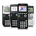 Shows goup image of compatible calculators