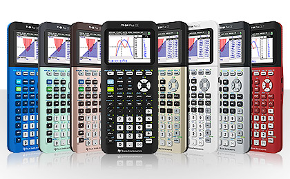 Find Where To The Ti 84 Plus Ce Graphing Calculator In A Variety Of Bold Fun Colors