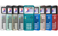 TI-84 Plus CE graphing calculator derivatives