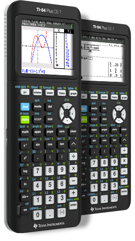 TI-84 Plus CE-T Graphing Calculator - UK and Ireland