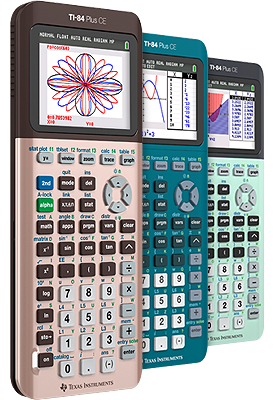 TI-84 Plus CE Graphing Calculator - US and Canada