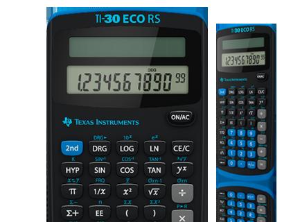 Calculatrice Scientifique Ti 30 Eco Rs Suisse