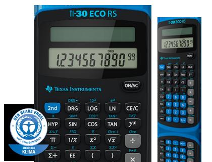 Wissenschaftlicher Taschenrechner Ti 30 Eco Rs Schweiz