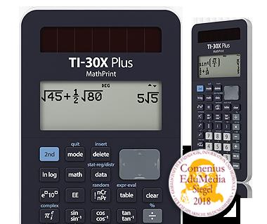 Wissenschaftlicher Taschenrechner Ti 30x Plus Mathprint Deutschland