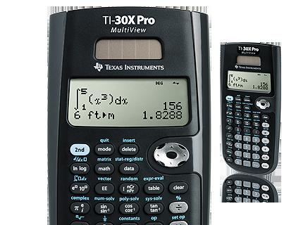 Wissenschaftlicher Taschenrechner Ti 30x Pro Multiview Deutschland