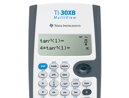 TI-30XB MultiView White