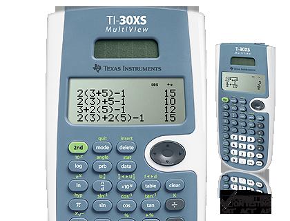 TI-30XS MultiView™ Scientific Calculator