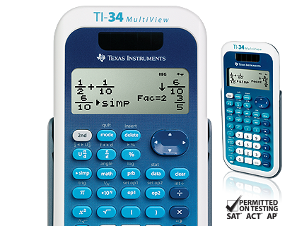 ti-34 multiview™ scientific calculator