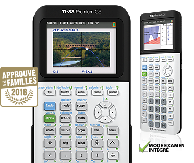calculatrice graphique ti 83