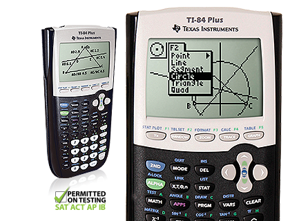 Product details TI-84 Plus graphing calculator with test bug Hero