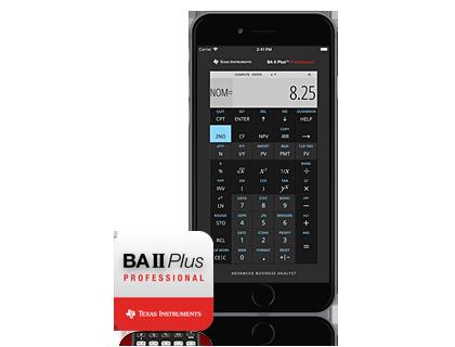Ba Ii Plus Financial Calculator App Australia And New Zealand