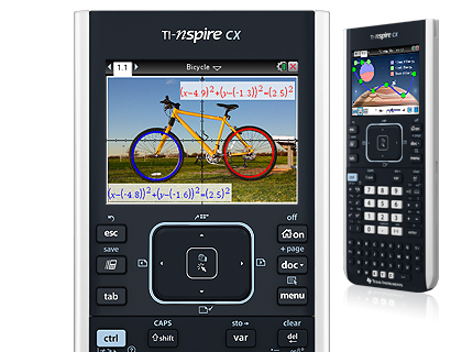 TI-Nspire™ CX Handheld Press-to-Test - UK and Ireland