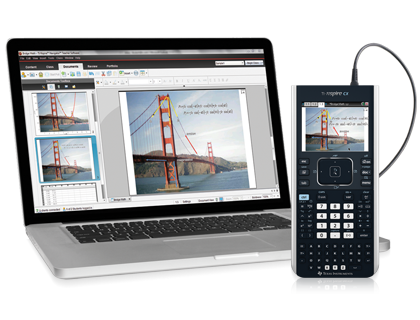 TI Nspire CX II CAS Student Software code
