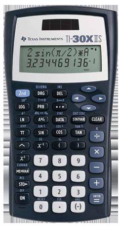 Texas instruments ti-30xs multiview scientific calculator.