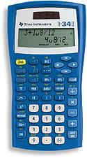Texas instruments calculator ti 34.