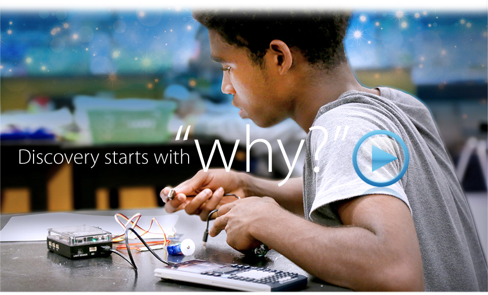 Discovery starts with 'Why' - TI-Innovator