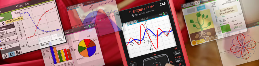 TI-Nspire CX II T CAS  callout full extend curriculum