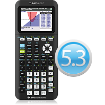 TI-84 Plus CE graphing calculator software update