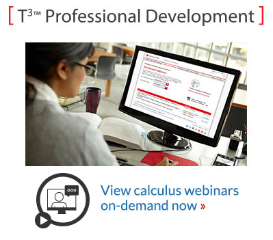 View calculus webinars on-demand now
