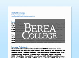 Partner Education Bera College