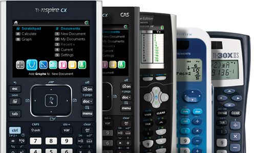 TI Graphing Calculators product registration promo for Customer Service