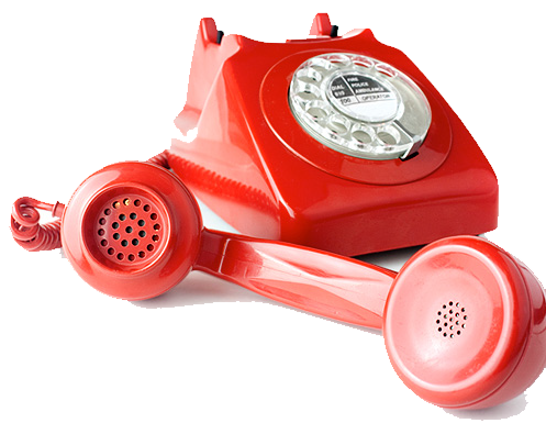 Red phone for TI Cares customer support hot line