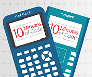 TI Codes Activites 10 minutes of code for Graphing calculators