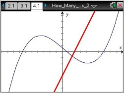 how to solve simultaneous equations on ti nspire cx