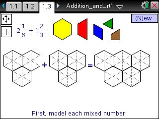 Dads worksheets mixed number patterns 2