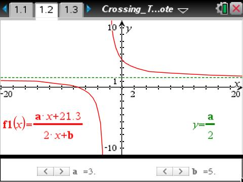 how to find vertical asymptotes on ti 84