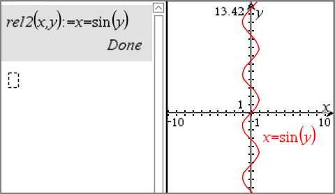 Graphing from notes and calculator if page layout options allow the graph appears on the same page as the function or relation otherwise the graph appears on a separate graphs page ccuart Gallery