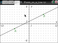 A1 U3 Points on a Line_sm