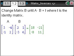 how to find eigenvectors on ti nspire cas