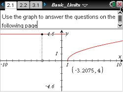 Math Nspired - Calculus - Limits of Functions by Texas