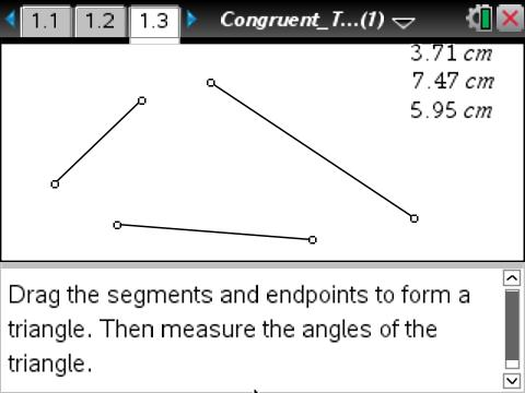 Geometry Congruent Triangles Geometry Ti Math Nspired