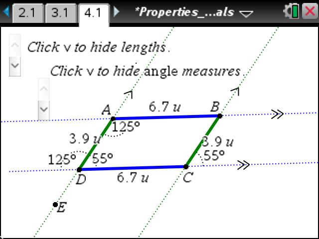 Exterior Math: Geometry: Sum Of Exterior Angles Of Polygons: Geometry: TI