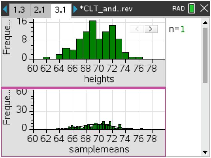 sampling distribution activity ap statistics