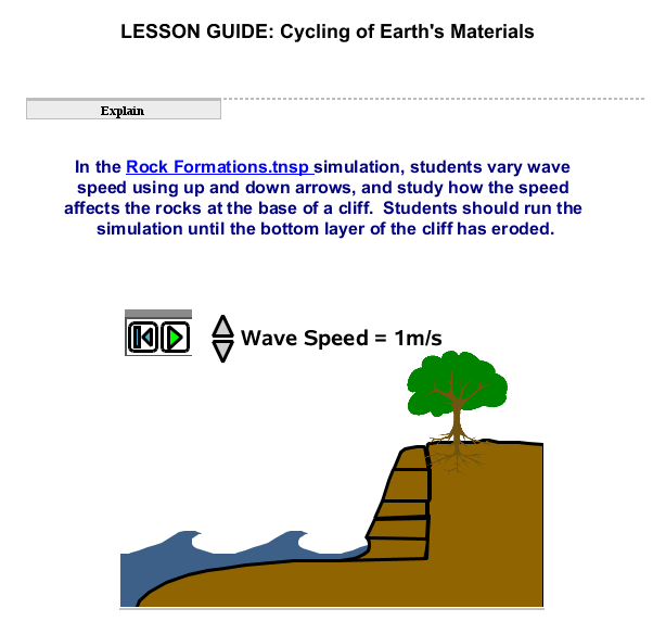 Cycling of Earths Materials SS