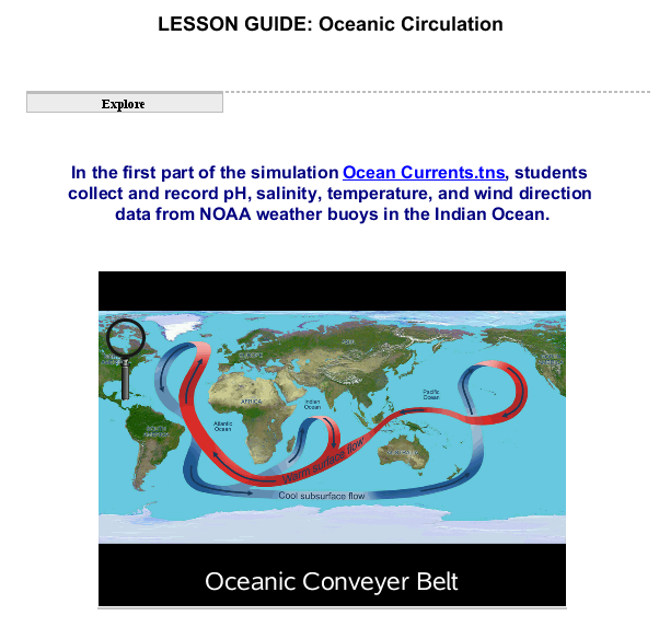 Oceanic Circulation SS